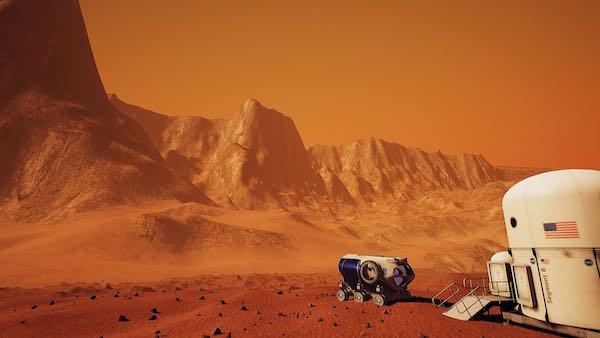 Digital Imemrsion Mars Vr