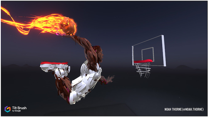 Digital Immersion NBA Tilt Brush