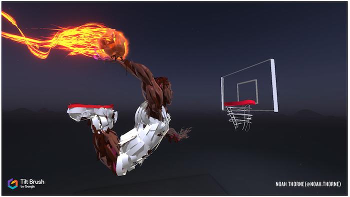 Digital Immersion NBA Tilt Brush