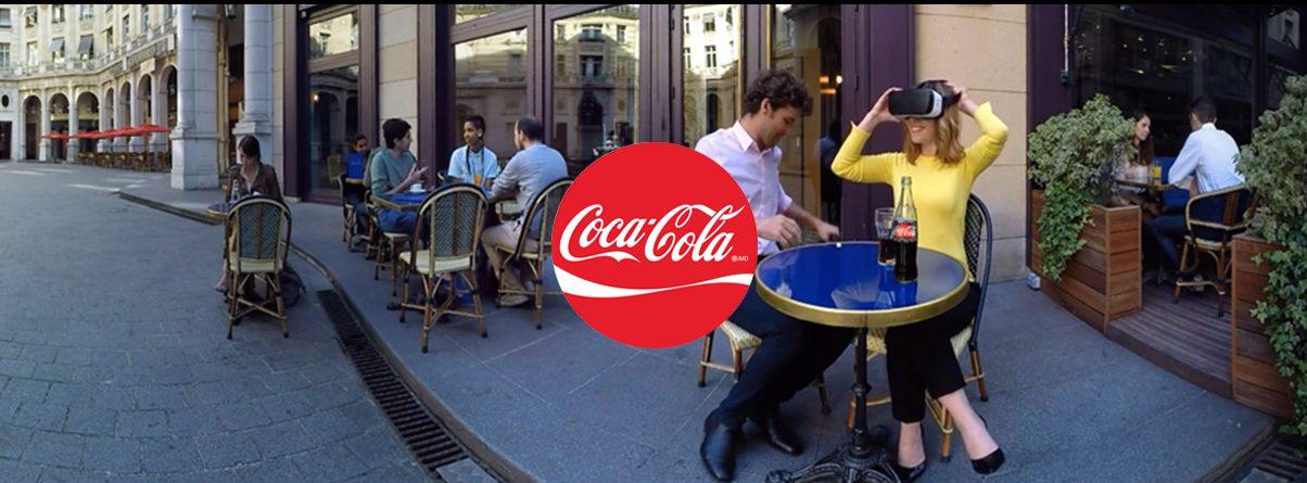 bannière coca cola