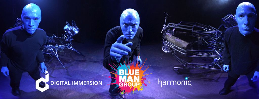 Blue man groupe affiche