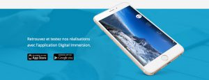 Application Digital Immersion