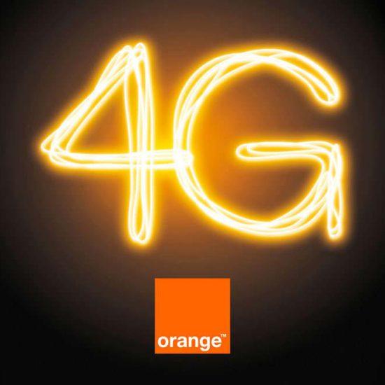 Bannière présentation orange 4G